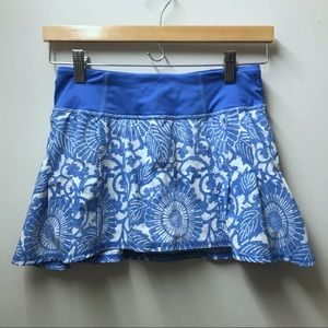 Lululemon Beachy Floral Run In The Sun Skirt